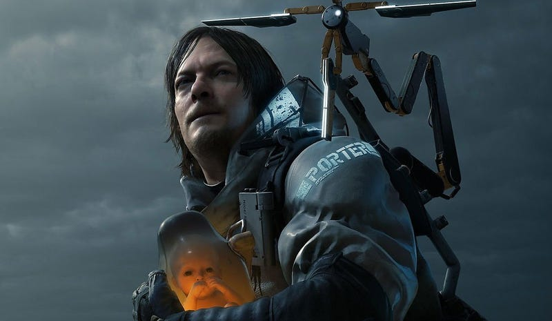 Illustration for article titled Hideo Kojima dice que él tampoco entiende su propio juego, Death Stranding