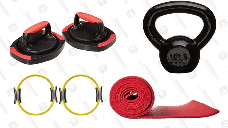 AmazonBasics Fitness Assortment   Woot