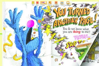 Illustration for article titled Sesame Street Digital Books Brought to You By the Letter Y