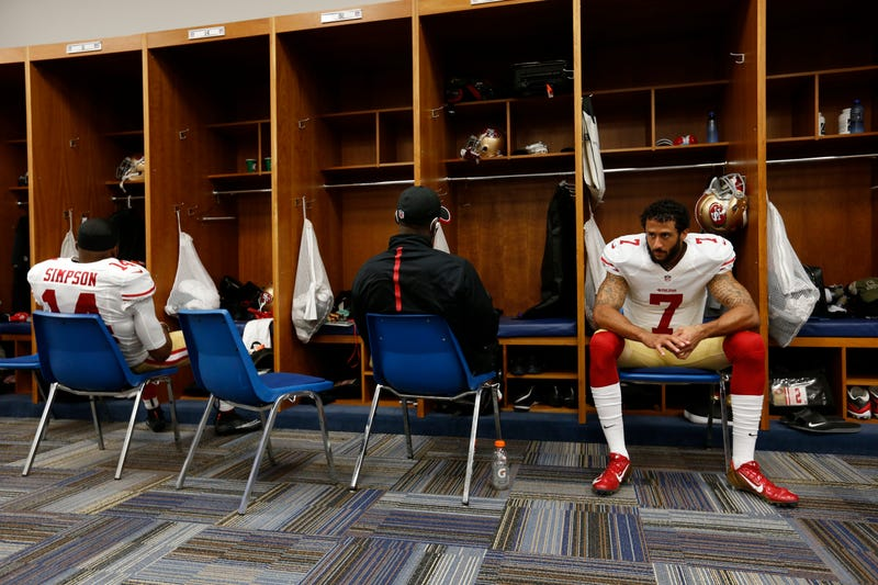 Colin KaepernickMichael Zagaris/San Francisco 49ers/Getty Images