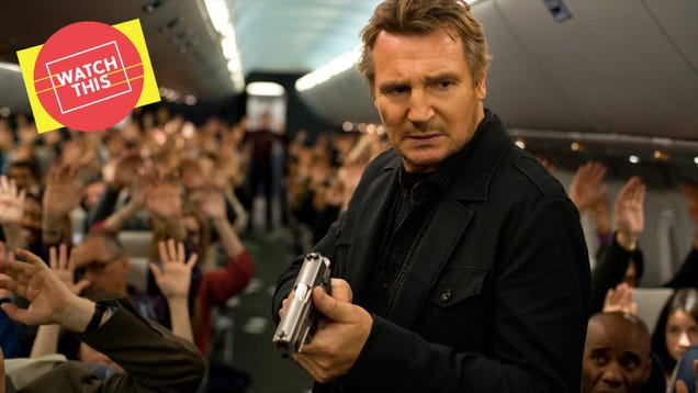 Non-Stop took the Liam Neeson thriller to new heights of dumb-smart fun