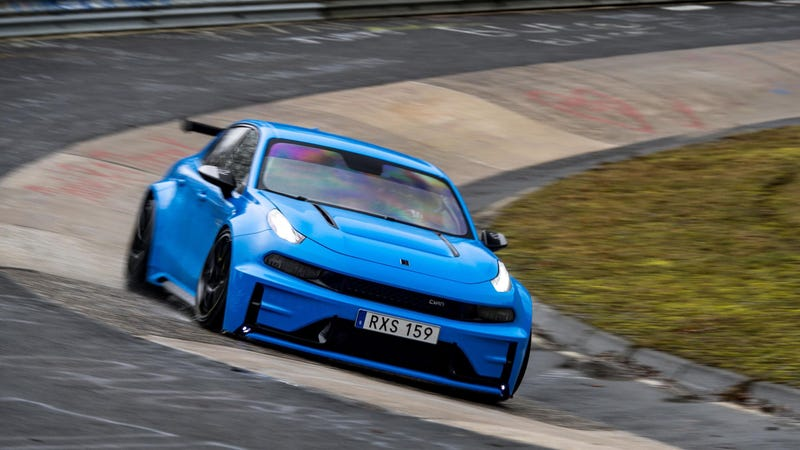 Illustration for article titled Here's Subscription Mobility Company Lynk & Co Breaking Nürburgring Records, As They Do
