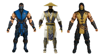 Illustration for article titled Get Over Here and look at Mezco's lovely Mortal Kombat Figures