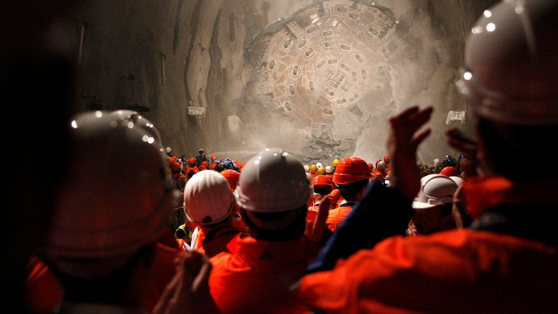 The Swiss Have the World's Longest Tunnel and They're ...