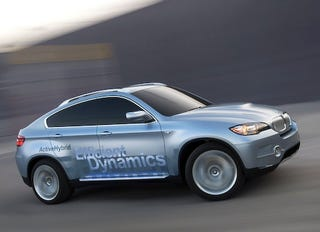 Illustration for article titled X6 to be First Hybrid BMW