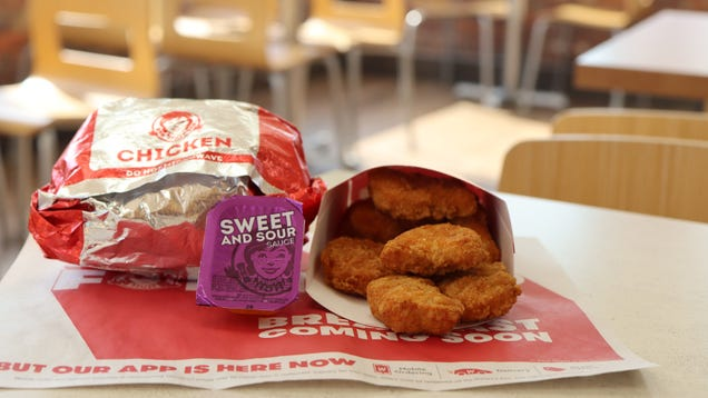 Get Free Chicken Nuggets at Wendy s This Week