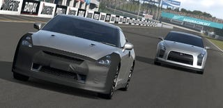 Illustration for article titled Nissan GT-R to Debut in Gran Turismo 5