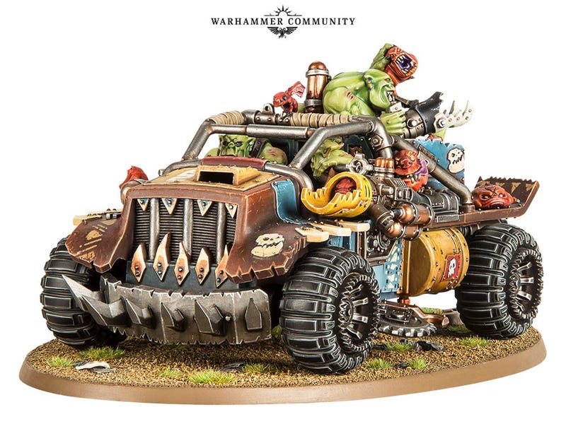 Illustration for article titled Oppo, critique the new Ork vehicles