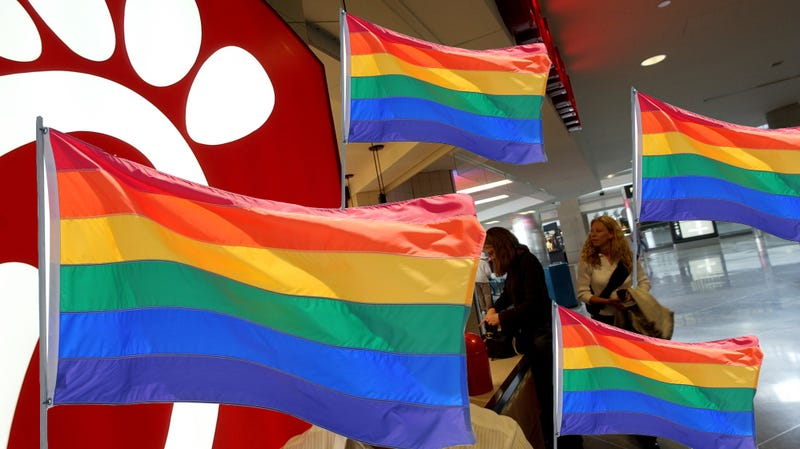 "Illustration for article titled City council hopes to make San Jose airport Chick-fil-A ""gayest"" in U.S."