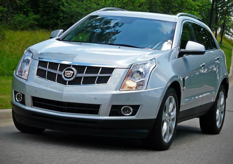 Illustration for article titled 2010 Cadillac SRX: Part One