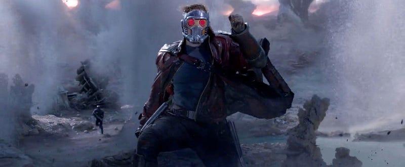 Illustration for article titled El segundo tráiler de Guardianes de la Galaxia llega cargado de acción