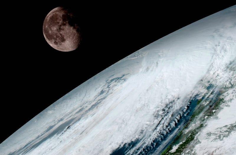 Así de impresionante se ve la Tierra desde el satélite metereológico más avanzado del mundo
