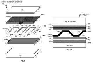 Illustration for article titled Apple Applies for Patent for Pressure-Sensitive Touchscreens