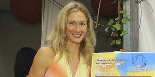 Carolyn Moos, Jason Collins' ex-fiancée (Katy Winn/Getty Images)
