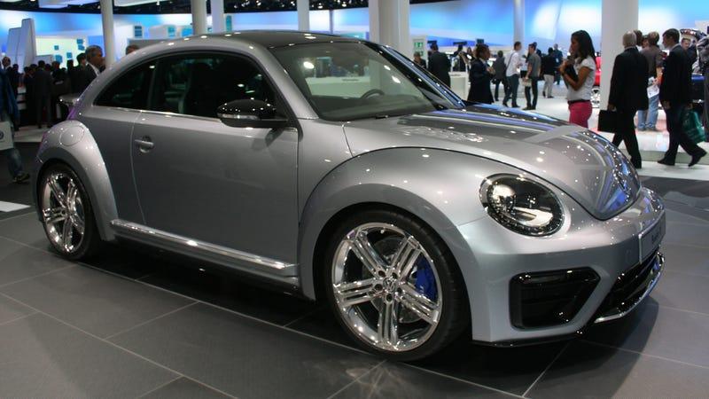 Illustration for article titled Volkswagen Beetle R concept