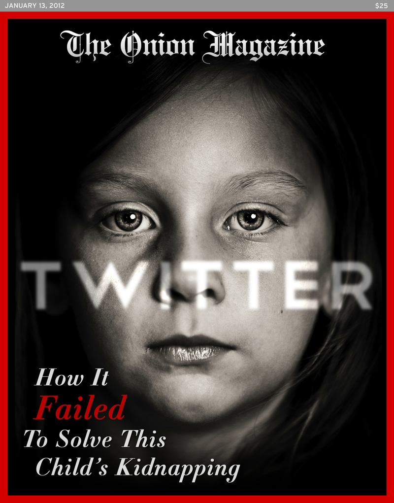 Illustration for article titled Twitter: How It Failed To Solve This Child's Kidnapping