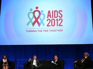 International AIDS Conferemce panel, including Bill Gates(Alex Wong/Getty Images)