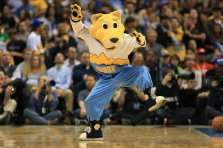Illustration for article titled Nuggets Mascot In Trouble For Making Appearance At GOP Rally