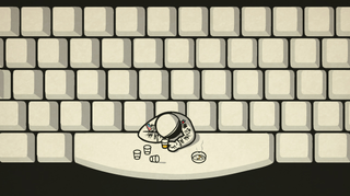 Illustration for article titled Getting Drunk at the Spacebar