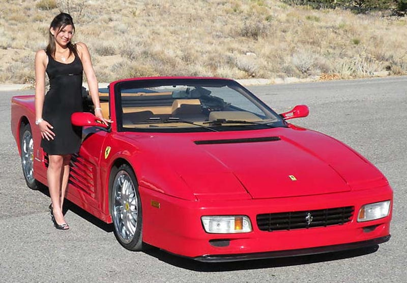 Illustration for article titled Backyard Ferrari Of The Day: Fierrari 512 Testarossa