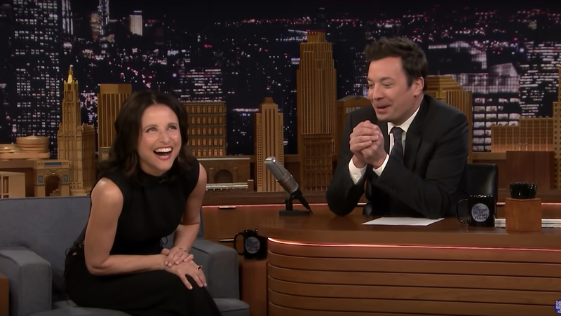 Illustration for article titled Veep Has Made Julia Louis-Dreyfus Curse Excessively in Real Life