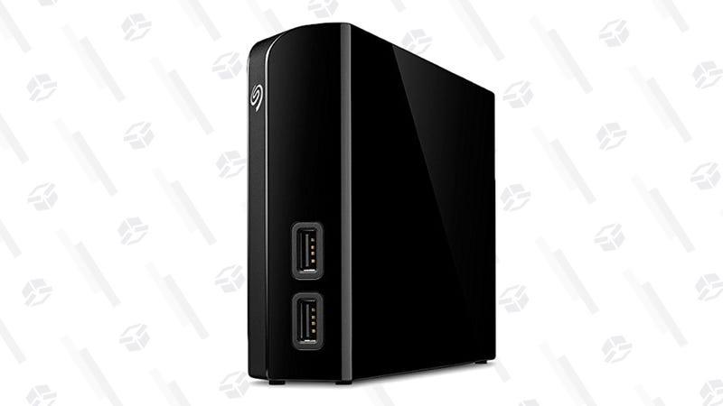 Seagate Backup Plus Hub 8TB External Desktop Hard Drive Storage   $150   Amazon