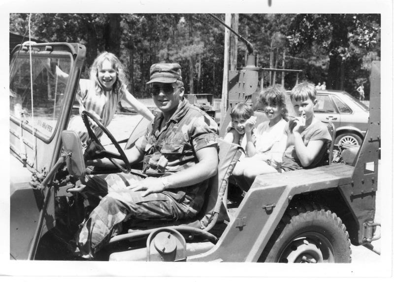 Company Picnic: Battalion Commander and Bn XO's kids. I drove kids around all afternoon that day.