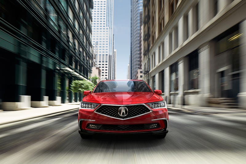 Illustration for article titled 2018 Acura RLX: because mediocrity can try and be sporty too