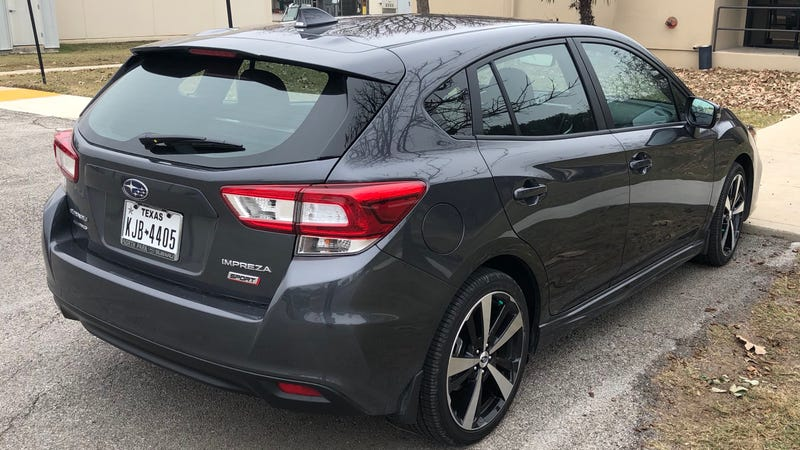 Illustration for article titled I Have This 2018 Impreza Sport 5-Door For The Next 5 Hours. AMA About It.