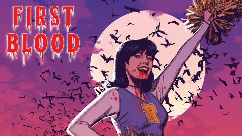 Image: Archie Comics. Vampironica #1 Main cover art by Greg Smallwood.