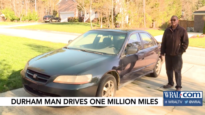 Illustration for article titled Here's What a Honda Accord With 1 Million Miles on It Looks Like