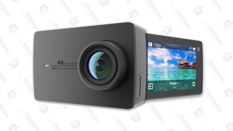 YI 4K Action Camera   $130   Amazon   Promo code O2R4A477