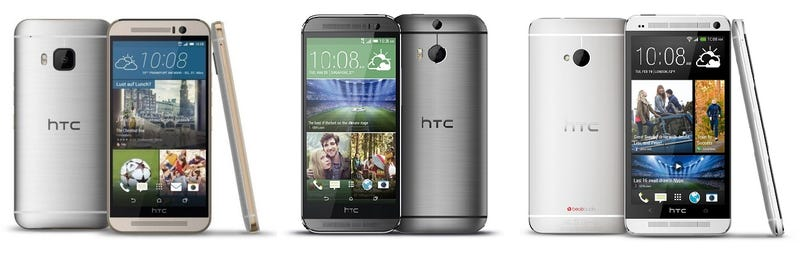 Illustration for article titled Comparativa del nuevo HTC One M9 vs M8 vs M7, ¿qué cambia?
