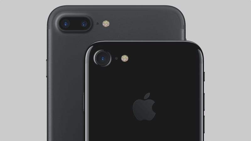 iphone 7 negro brillante vs negro