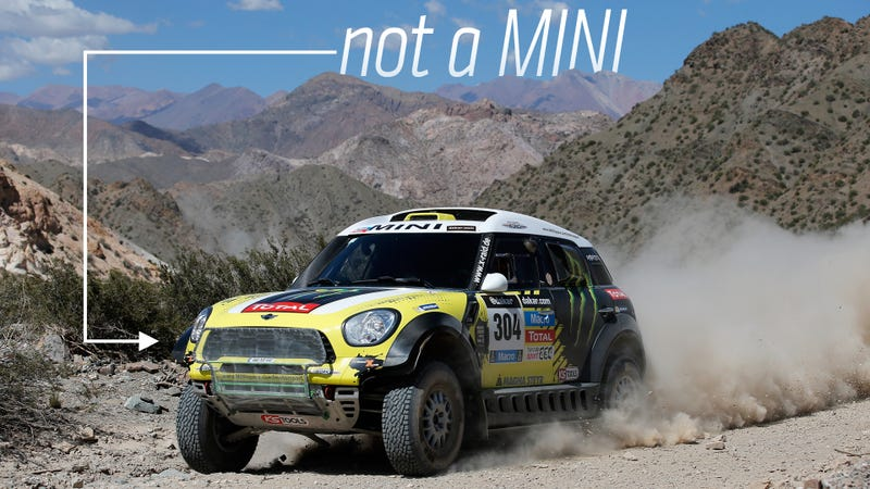 Illustration for article titled A Mini Didn't Win The Dakar Rally