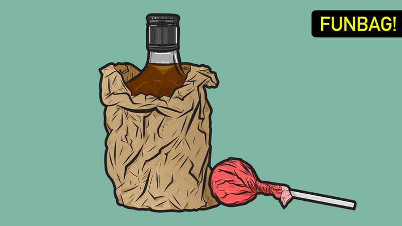 Illustration for article titled Candy Versus Booze: Who Ya Got?!