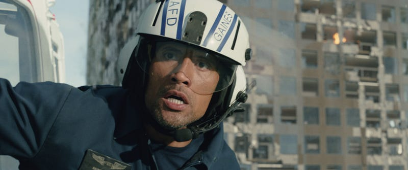 Illustration for article titled San Andreas Is A Film Where Earthquakes Have A Vendetta Against The Rock