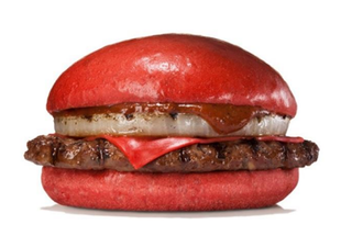 Illustration for article titled In Japan, Burger King Has Red Cheeseburgers
