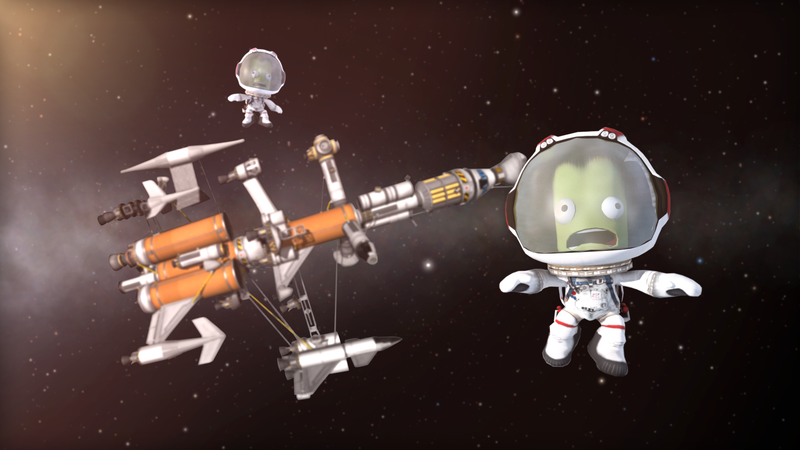 Illustration for article titled Kerbal Space Program Review Bombed Over Controversial Chinese Gender Translation