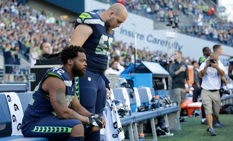 NFL National Anthem Protester Michael Bennett Describes Recent Victimization of Police Brutality