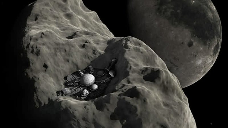 Illustration for article titled Is James Cameron's next big venture asteroid-mining?