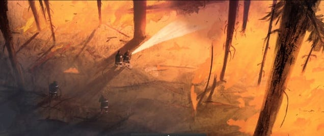 A Firefighter Is Captivated By Flames In This Gorgeous Animated Short
