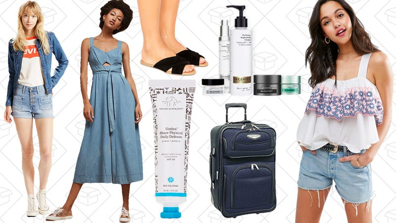 Illustration for article titled Today's Best Lifestyle Deals: Luggage, ASOS, Levi's, Anthropologie, Dermstore, and More