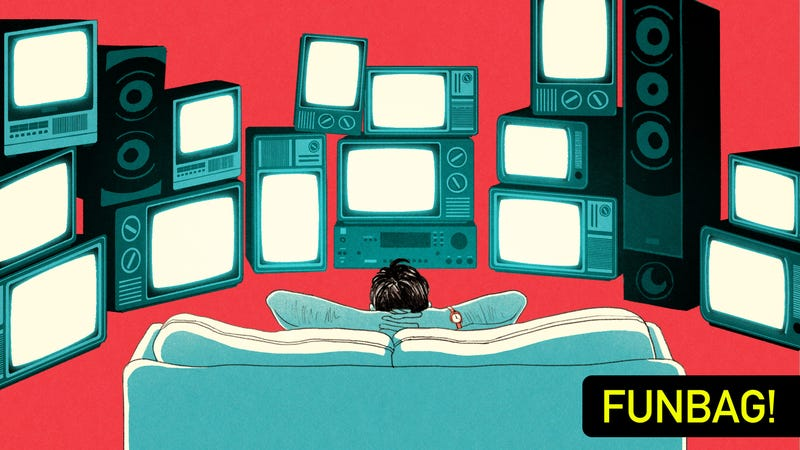 Illustration for article titled Should A TV Room Really Have More Than One TV?