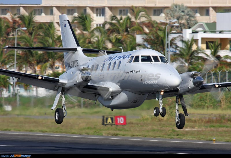 A Jetstream 32 like the type I flew the last four years