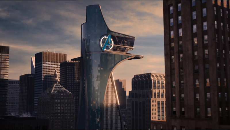 Avengers Tower in the MCU.