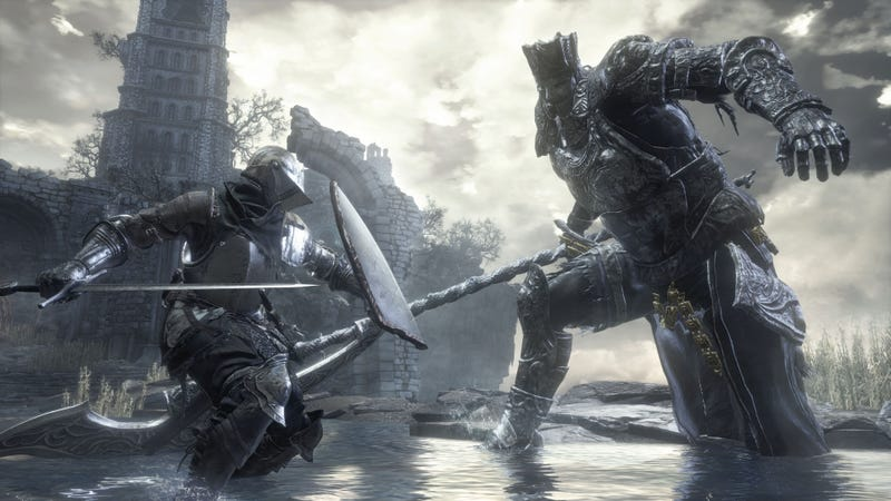 Illustration for article titled Dark Souls 3 Player Finds Extra Ridiculous Way To Beat A Boss