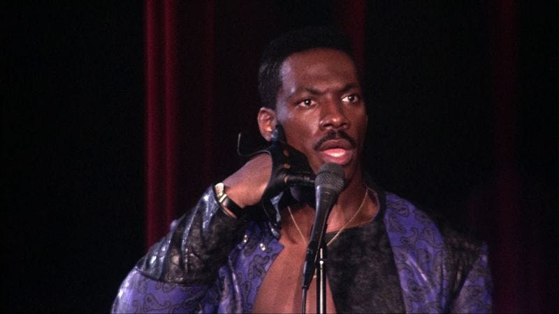 Illustration for article titled Eddie Murphy didn't always need a fat suit to play multiple characters
