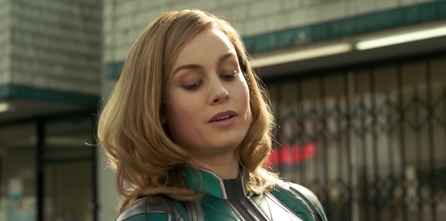 Men on Twitter are still very, very mad about Captain Marvel