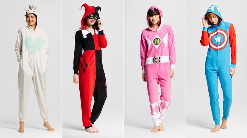 Illustration for article titled These Onesie Costumes Are Beautiful and Majestic and I Would Like to Wear Them All